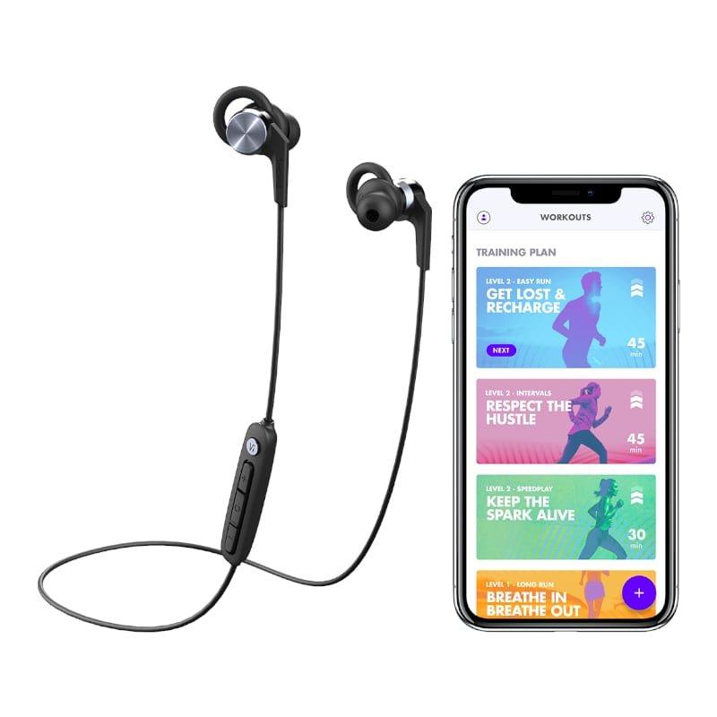 1MORE Fitness E1018PLUS Vi React Sport IPX6 Bluetooth Earphones b