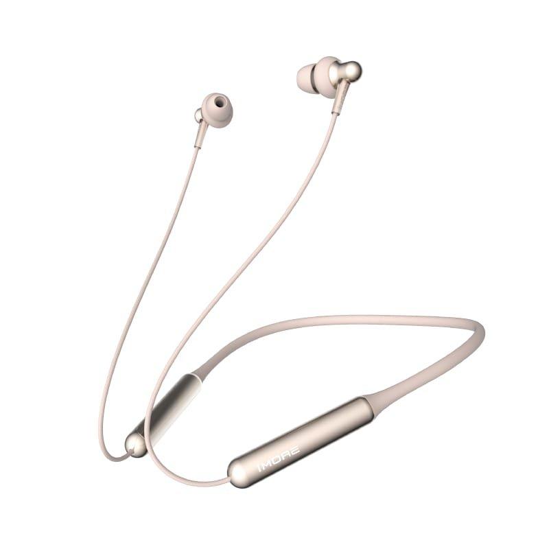 1MORE Stylish E1024BT Dual Driver Bluetooth Earphones Gold a