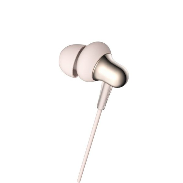 1MORE Stylish E1025 Dual Dynamic Driver Earphones Gold a