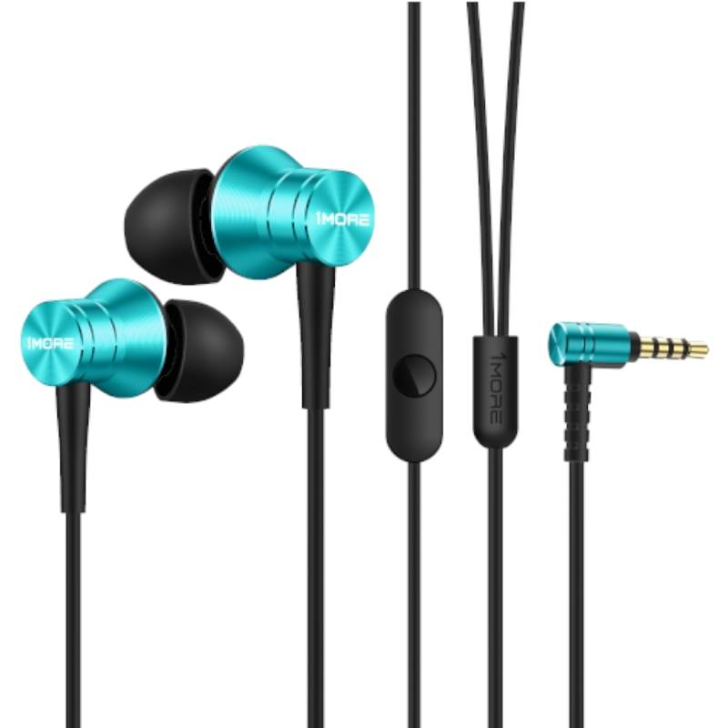 1more classic c1009 piston fit 3.5mm earphones blue e