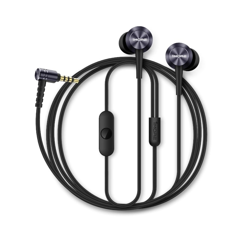 1more classic c1009 piston fit 3.5mm earphones grey d