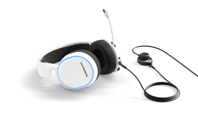 steelseries arctis 5 white overview