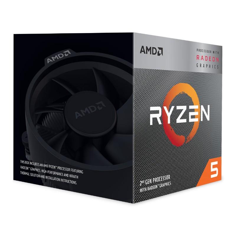 amd ryzen 5 3400g processors b