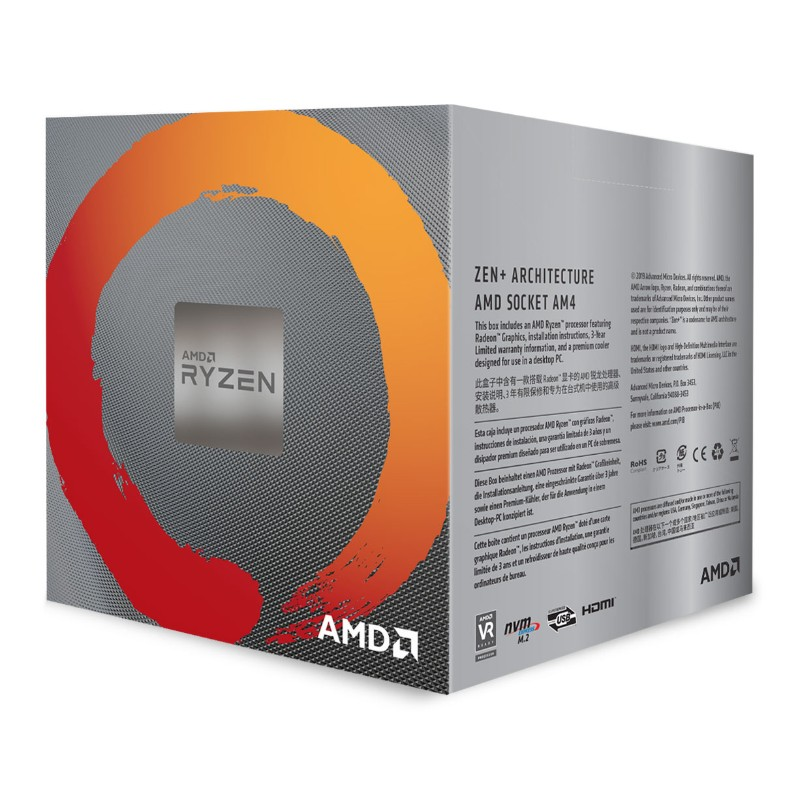 amd ryzen 5 3400g processors c