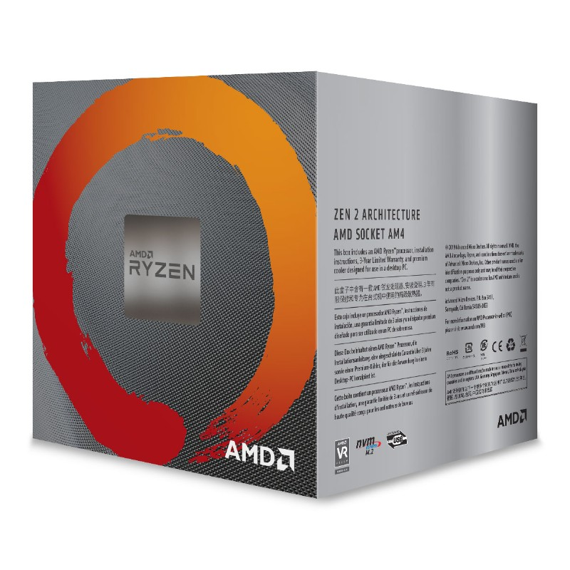 AMD Ryzen 5 3600X Processor & Wraith Spire Cooler | Techfox