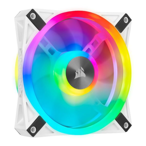 Corsair iCUE QL120 RGB fan white a