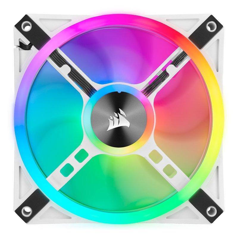 Corsair iCUE QL120 RGB fan white d