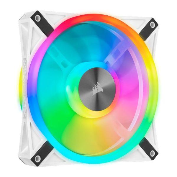 Corsair iCUE QL140 RGB fan white a