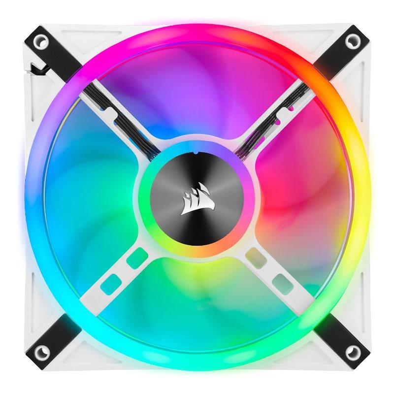 Corsair iCUE QL140 RGB fan white d