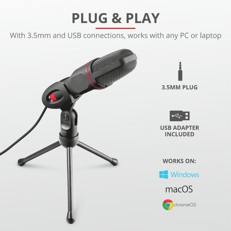 Trust GXT 212 Mico USB Microphone b