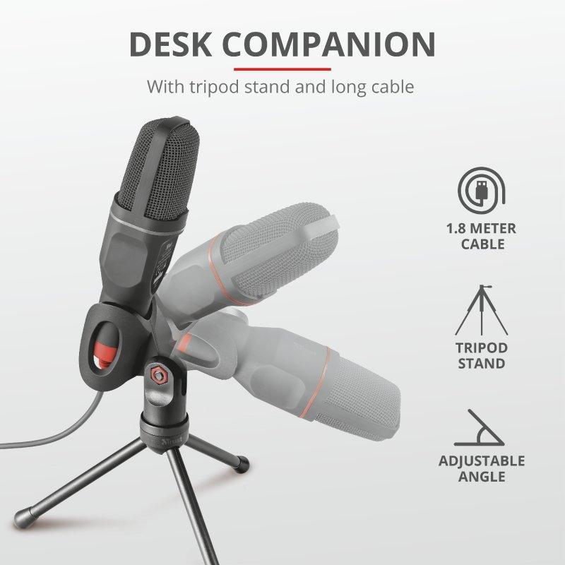 Trust GXT 212 Mico USB Microphone e