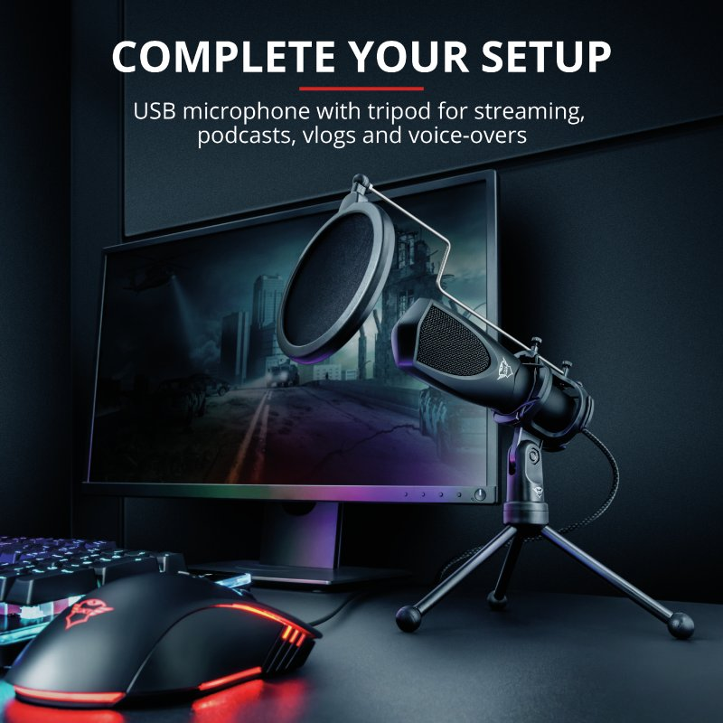 Trust GXT 232 Mantis Streaming Microphone c