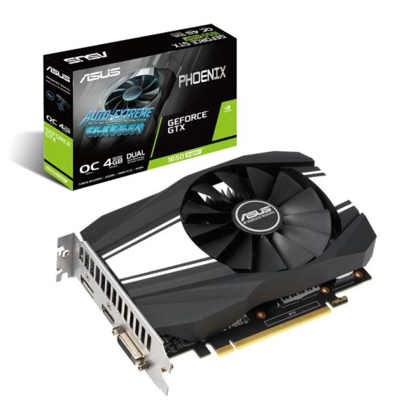 Asus GeForce GTX 1650 SUPER Phoenix OC Graphics Card a