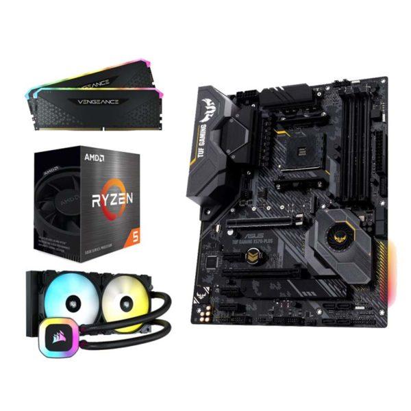 amd ryzen 5 5600x asus tuf gaming x570 plus 16gb upgrade kit a