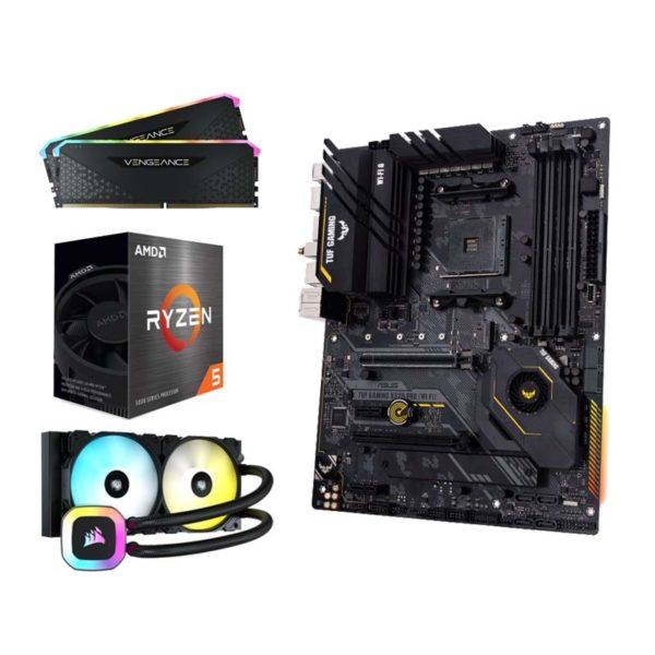 amd ryzen 5 5600x asus tuf gaming x570 pro wifi 16gb upgrade kit a