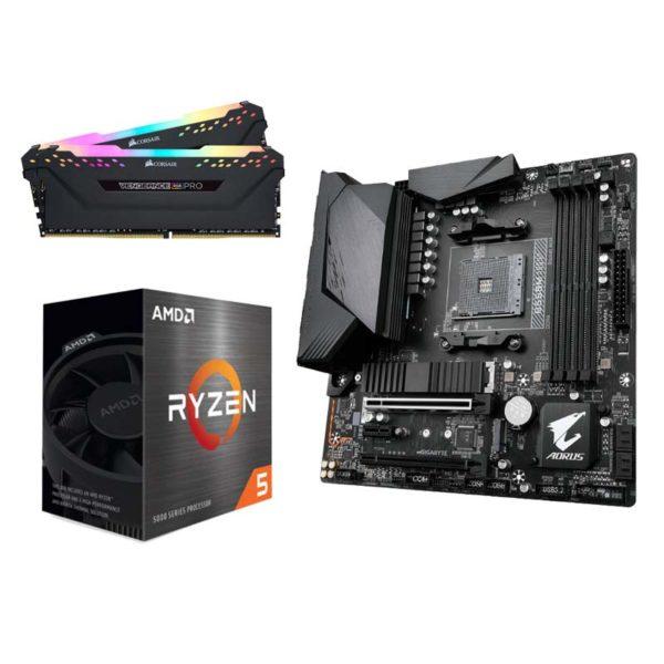 amd ryzen 5 5600x gigabyte b550m aorus pro p 16gb upgrade kit a