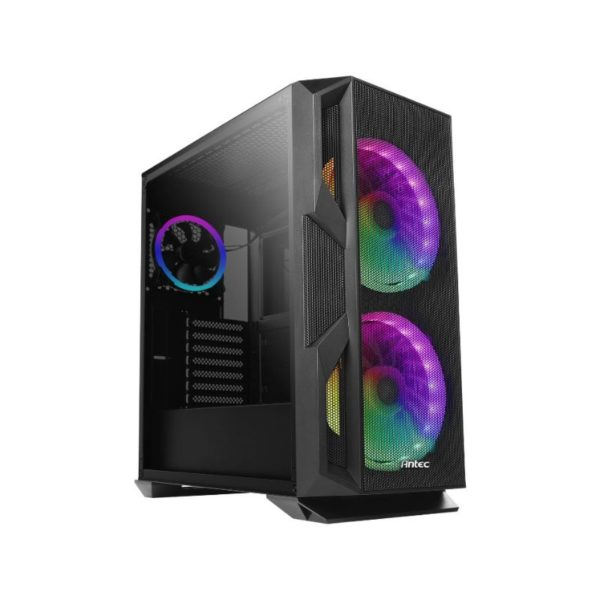 antec nx800 argb tempered glass gaming case a