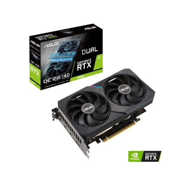 asus dual geforce rtx 3060 12g oc v2 graphics card a