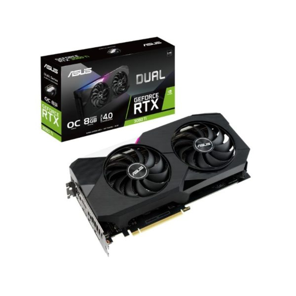asus dual geforce rtx 3060 ti 8g oc v2 graphics card a
