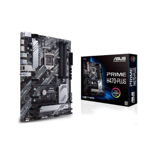 asus prime h470 plus intel lga 1200 motherboard a