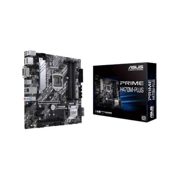 asus prime h470m plus intel lga 1200 motherboard a