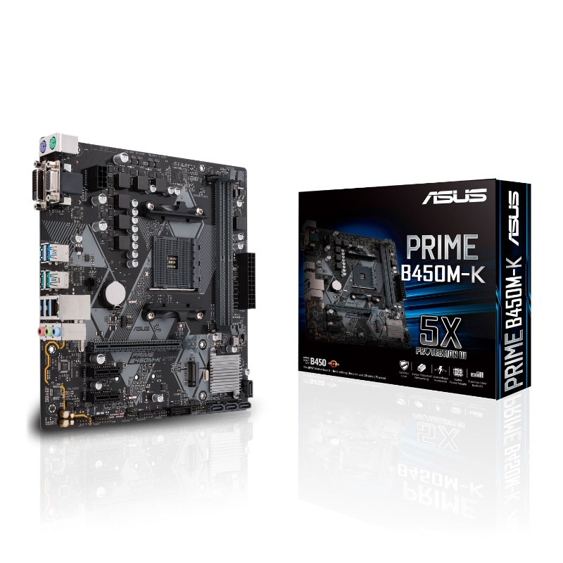 asus prime ryzen b450m k am4 motherboard a