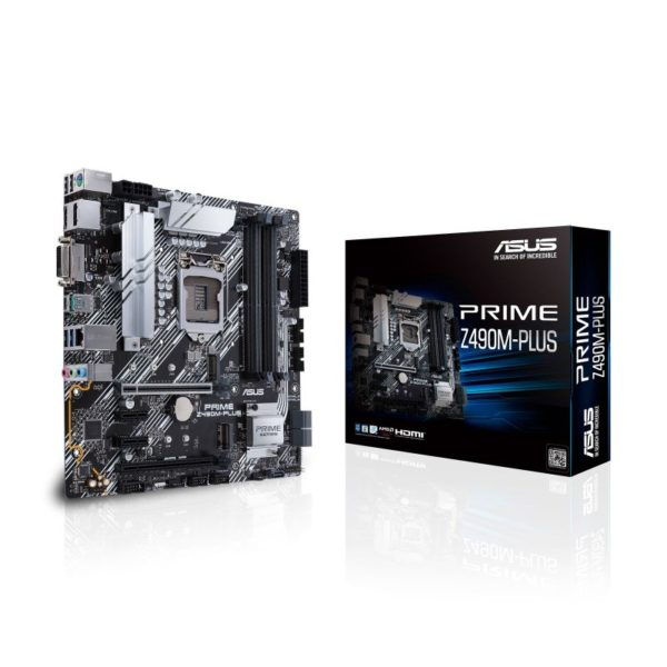 asus prime z490 m plus intel 10th gen micro atx motherboard a