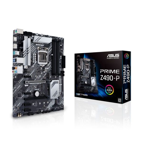asus prime z490 p intel 10th gen atx motherboard a