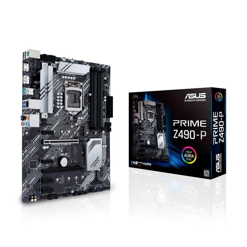 asus prime z490 p intel 10th gen atx motherboard a