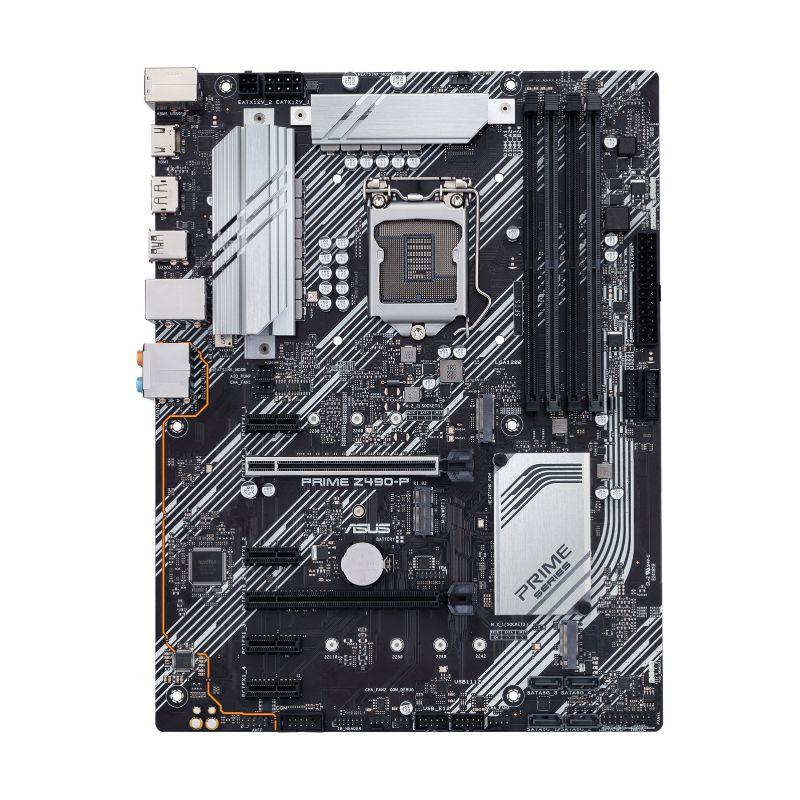 asus prime z490 p intel 10th gen atx motherboard b
