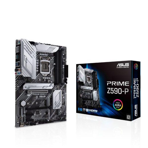 asus prime z590 p intel lga 1200 gaming motherboard a