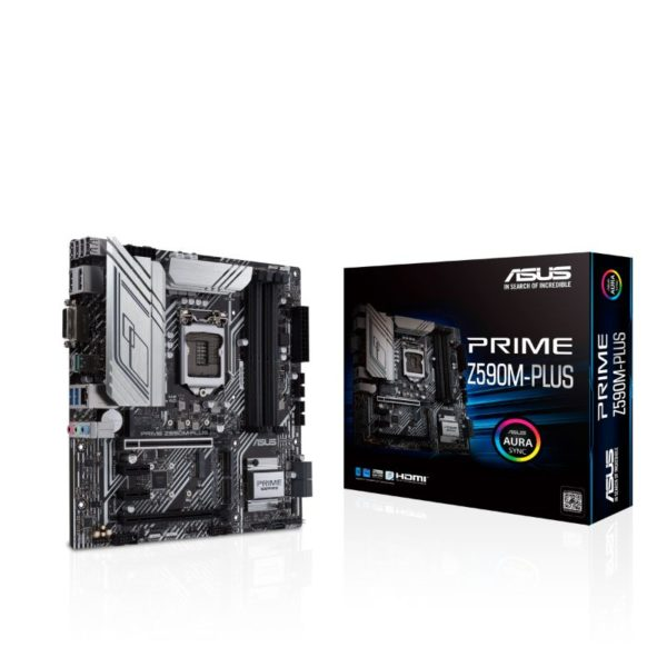 asus prime z590m plus intel lga 1200 motherboard a