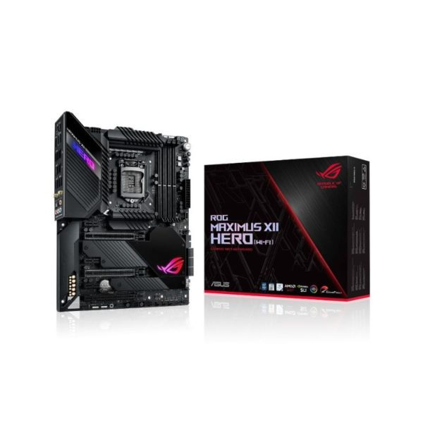 asus rog maximus xii hero wifi intel lga 1200 motherboard a