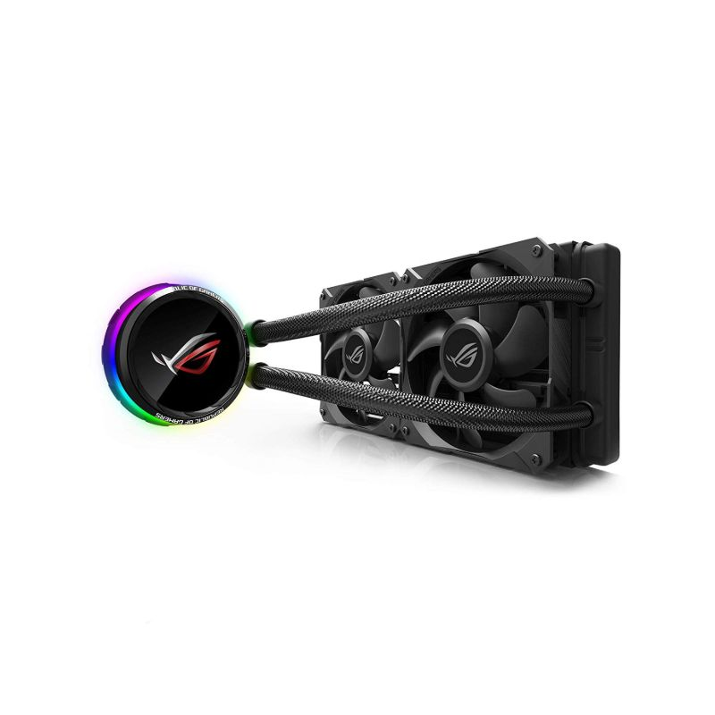 asus rog ryuo 240 oled aio cpu cooler a