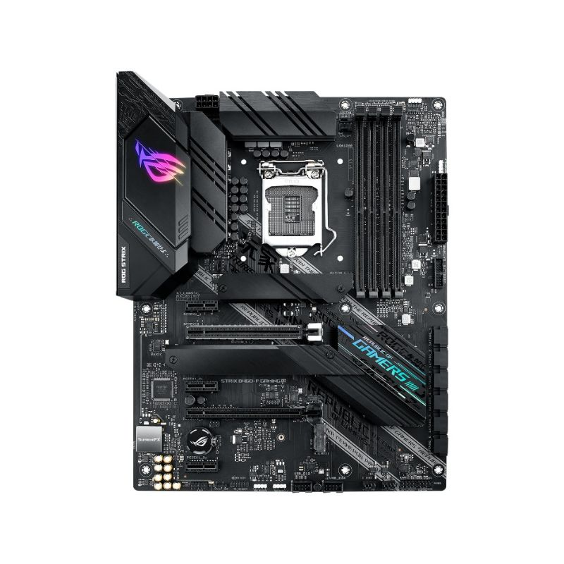 asus rog strix b460 f gaming intel lga 1200 motherboard b