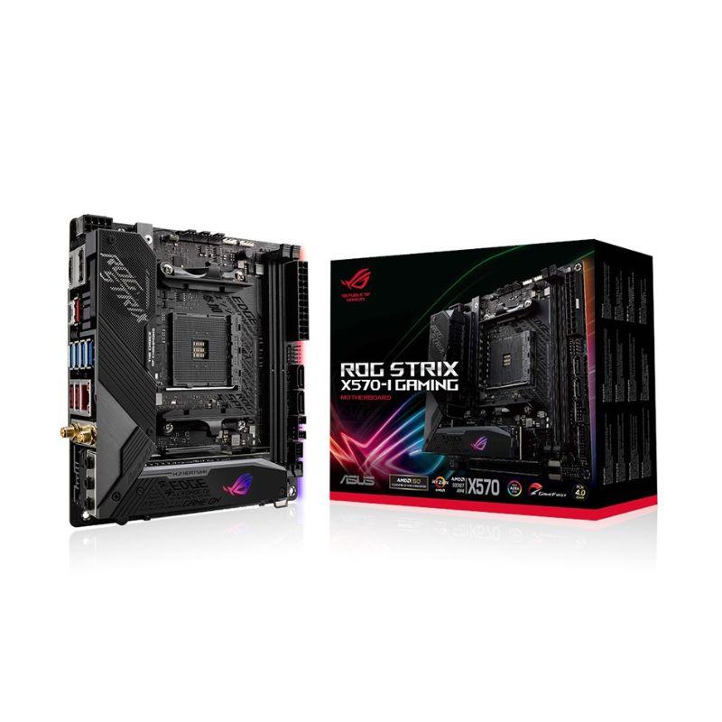 asus rog strix x570 i gaming am4 ryzen mini itx motherboard a