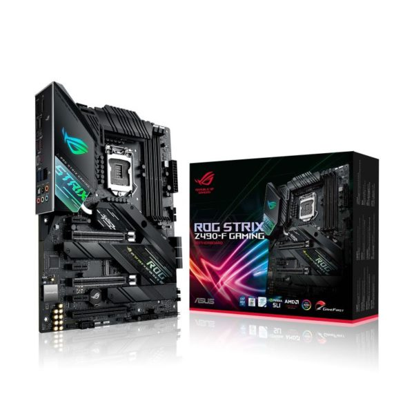 asus rog strix z490 f gaming intel 10th gen atx motherboard a