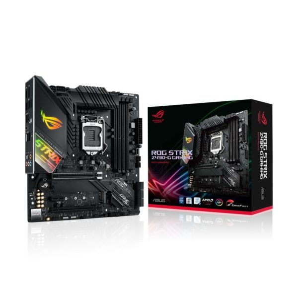 asus rog strix z490 g gaming intel 10th gen matx motherboard a