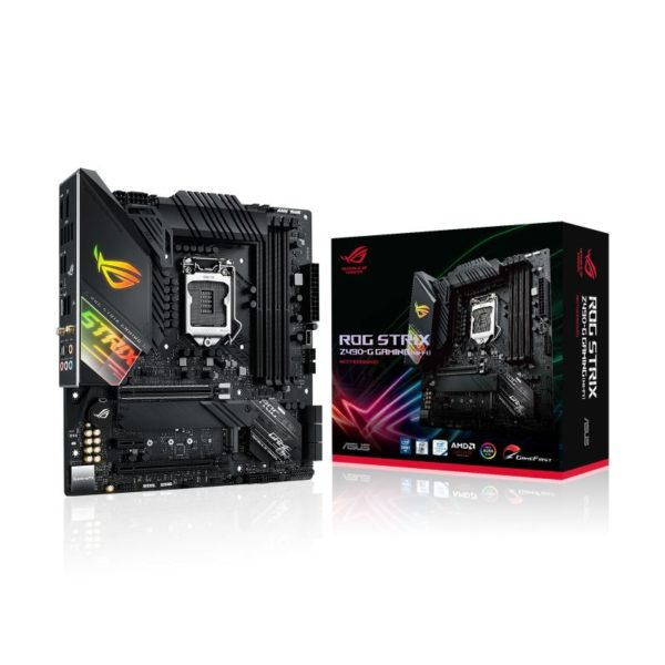 asus rog strix z490 g gaming wifi intel 10th gen matx motherboard a