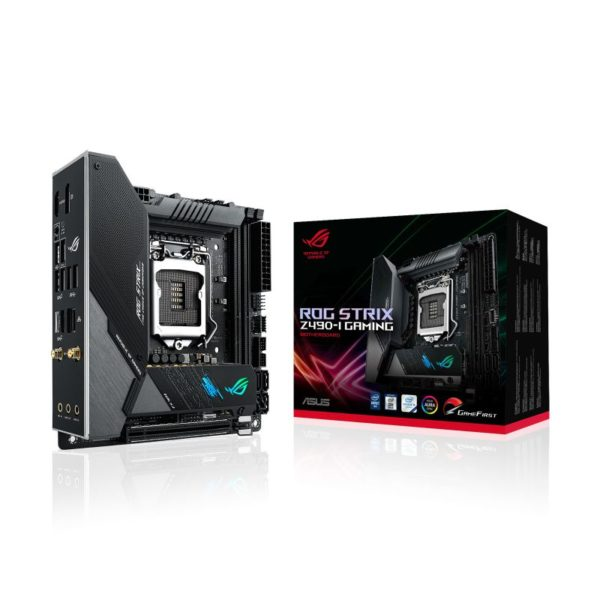 asus rog strix z490 i gaming intel 10th gen matx motherboard a