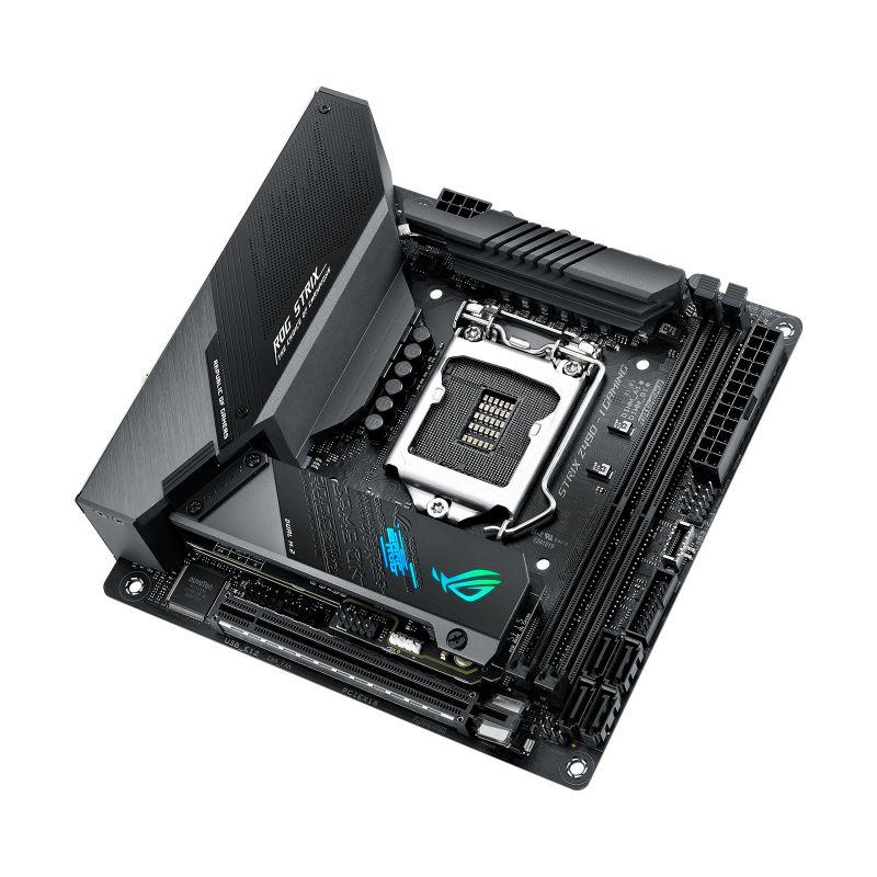 asus rog strix z490 i gaming intel 10th gen matx motherboard c