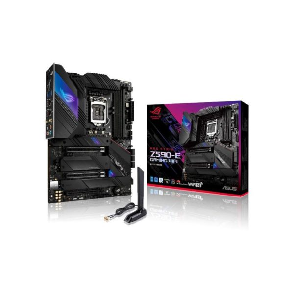 asus rog strix z590 e gaming wifi motherboard a