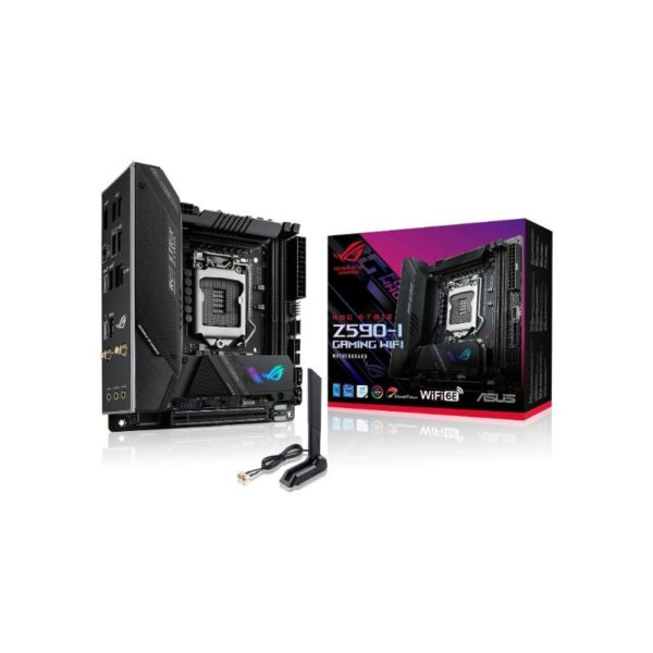 asus rog strix z590 i gaming wifi itx motherboard a