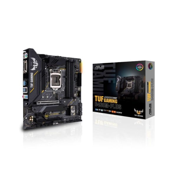 asus tuf b460m plus gaming intel lga 1200 motherboard a