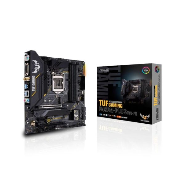 asus tuf b460m plus gaming wifi intel lga 1200 motherboard a