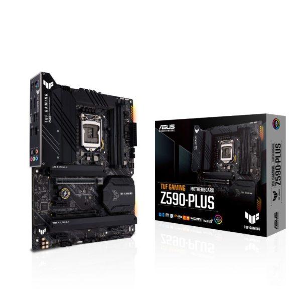 asus tuf gaming z590 plus intel lga 1200 motherboard a