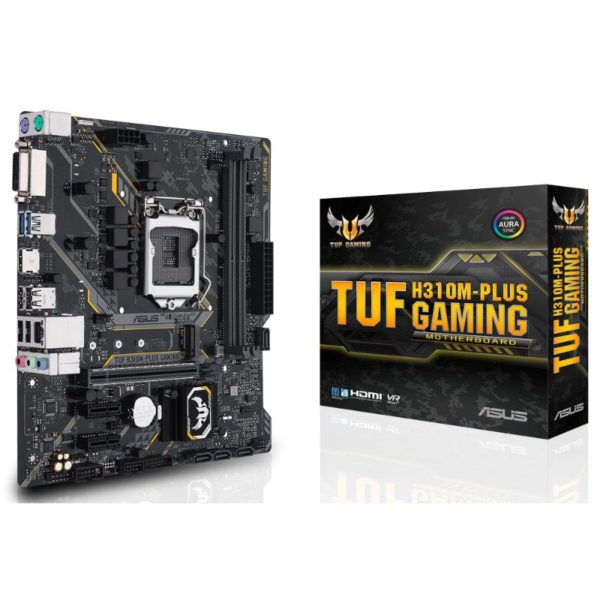 asus tuf h310m plus gaming motherboard a