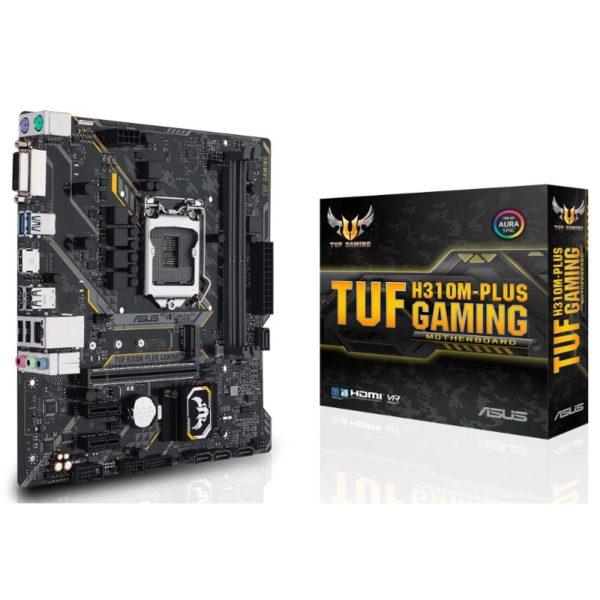 asus tuf h310m plus gaming motherboard a