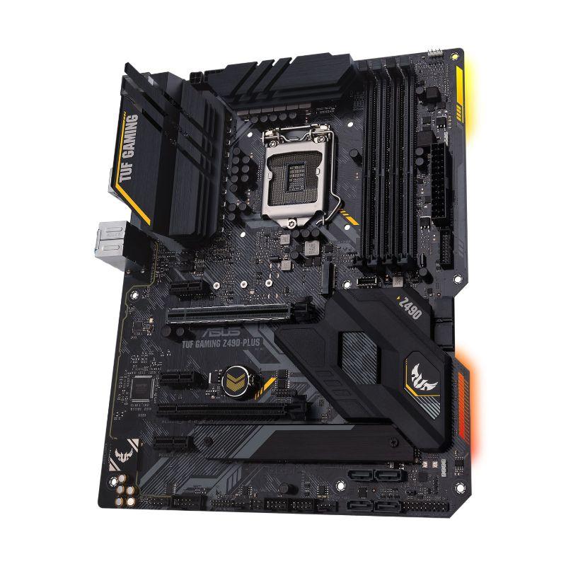 asus tuf z490 plus gaming intel 10th gen atx motherboard c