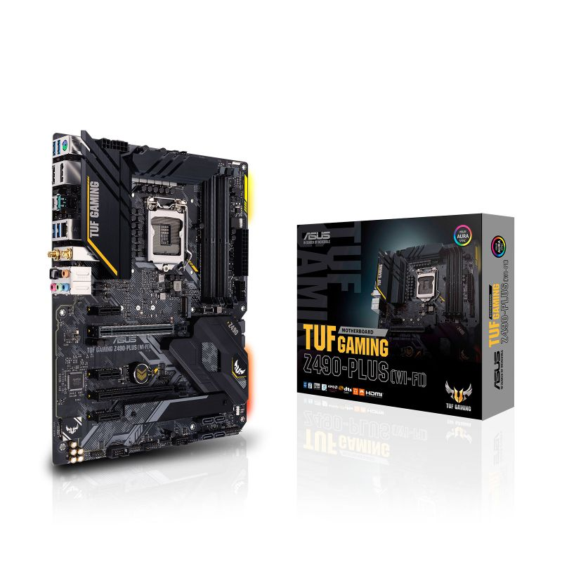 asus tuf z490 plus gaming wifi intel 10th gen atx motherboard a